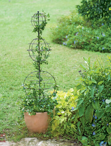 Topiary Balls Triple Sphere Topiary Frame Wire Topiary
