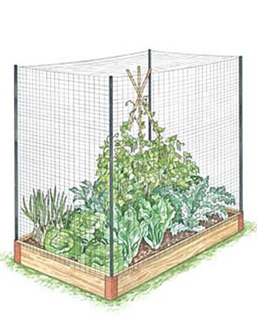 Raised Bed Fence Kit