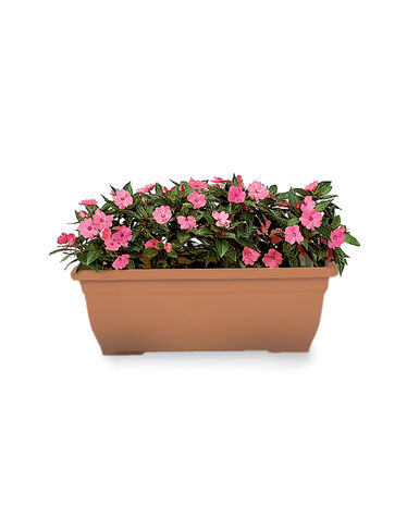 "23"" Self-Watering Trough Planter"