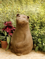 Belly Bear Statue