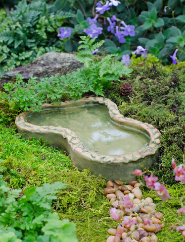 Fairy Garden Pond and Spinner