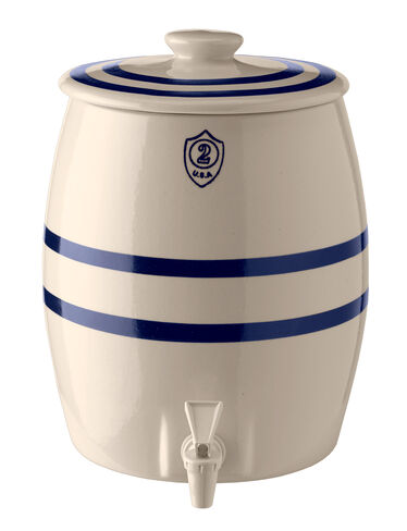2-Gallon Stoneware Keg