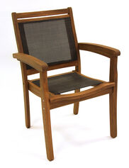Eucalyptus Stackable Armchair