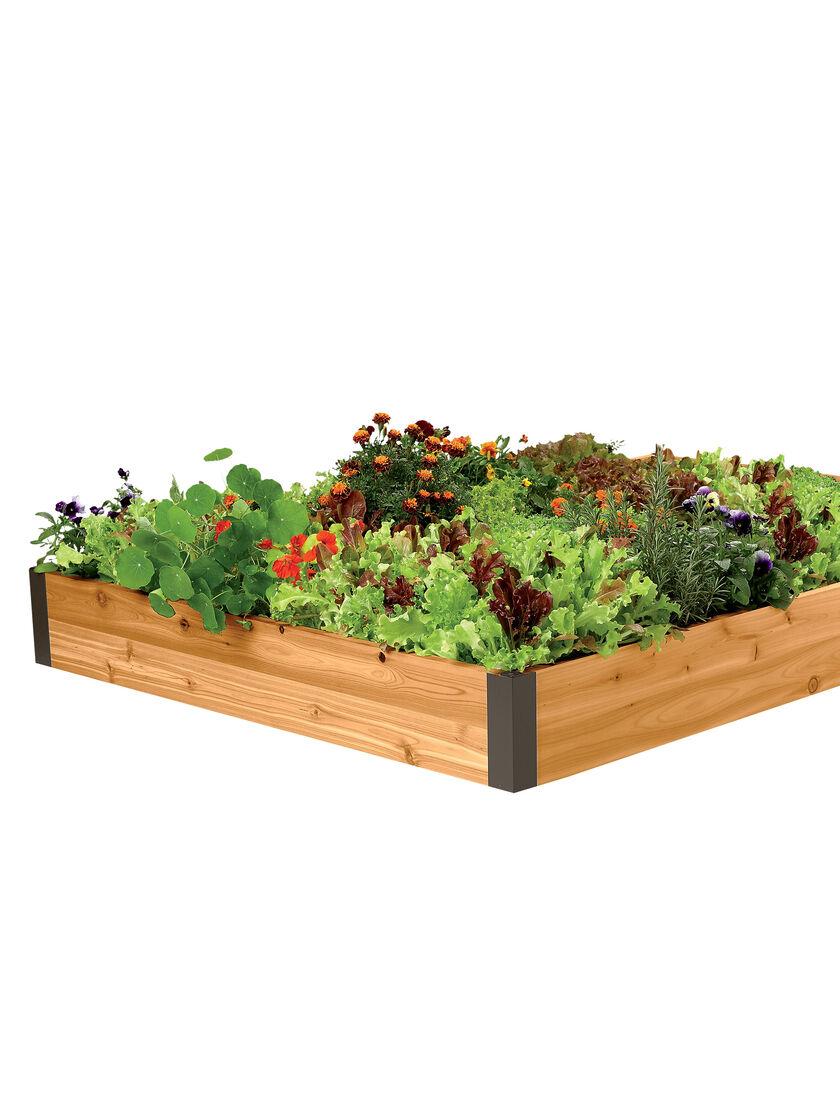 Raised Garden Bed Soil Calculator