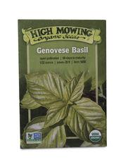 Genovese Basil Organic Seeds