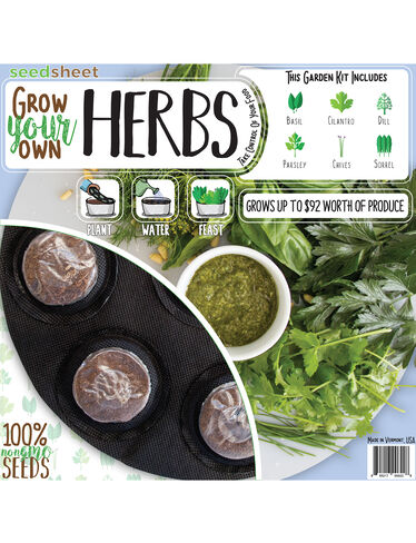 Grow Your Own Herbs Seedsheet