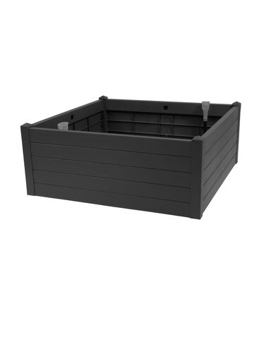 Terrazza Raised Bed, Black