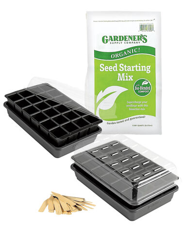 Organic GrowEase Seed Starting Success Kit Seed Starting, Seedling, Seedstarting Supplies, Gardening, Seed-Starting, Garden