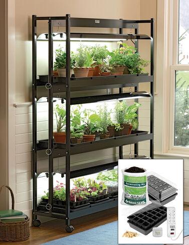 Standard 3-Tier SunLite® Garden with Jump Start Kit Seed Starting, Seedling, Seedstarting Supplies, Gardening, Seed-Starting, Garden