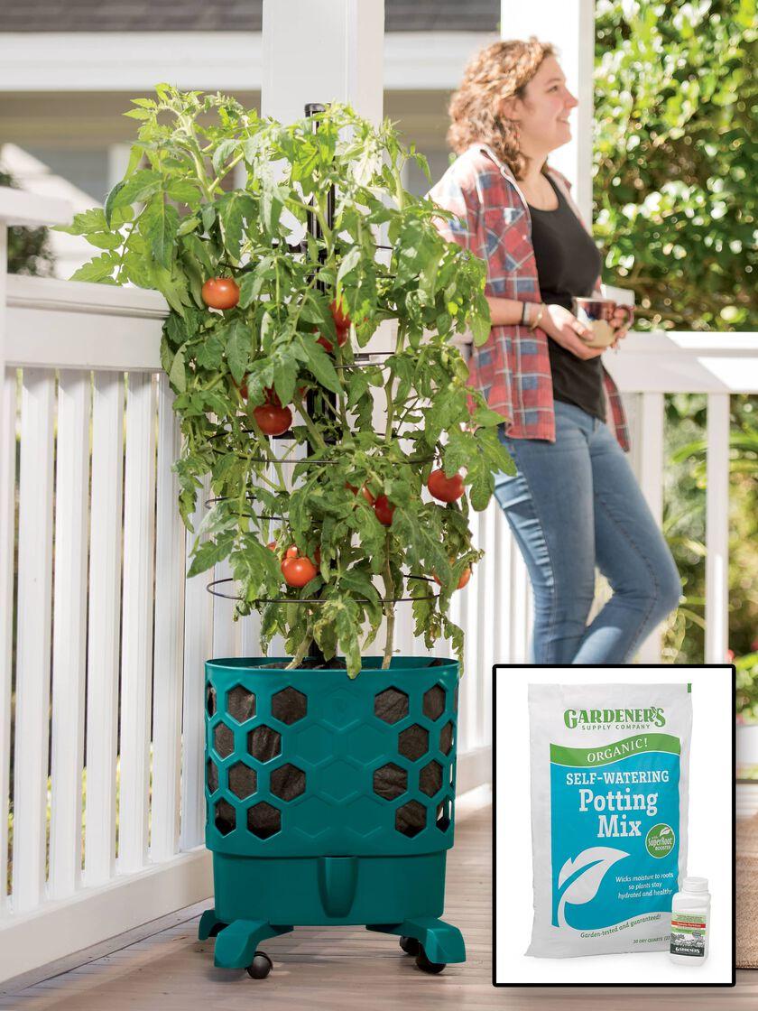 Gardener S Revolution Tomato Garden Complete Kit For