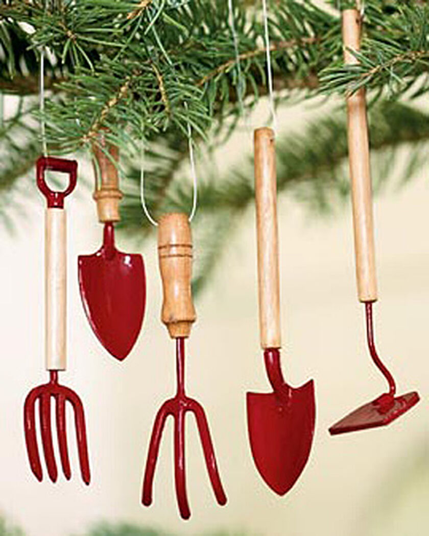 Garden Tool Christmas Tree Ornaments
