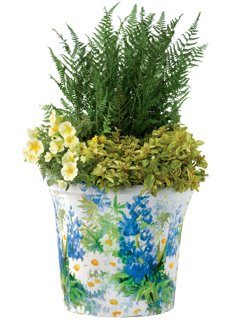 Patioart planter slipcovers buy from gardener 39 s supply for Gardeners supply planters