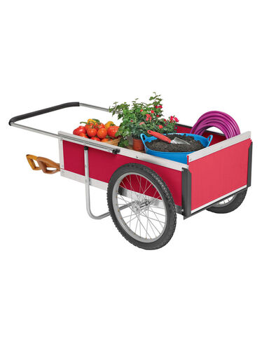 Medium Gardener's Supply Cart, Red