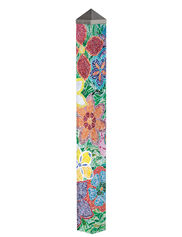 Flower Mosaic Art Pole