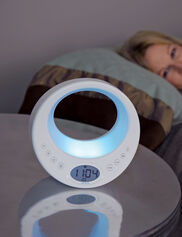 Rise & Shine® Alarm Clock and Sleep System