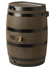 Flat-Back Rain Barrel