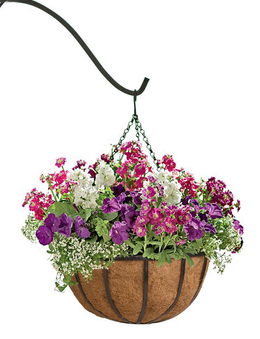 Hayrack Hanging Baskets