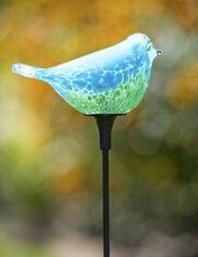 Songbird Solar Garden Stake