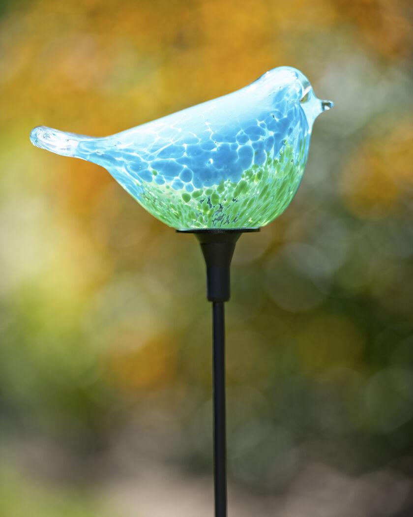 songbird solar garden stake - Solar Garden Decor