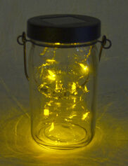 Mason Jar Solar Lid Light