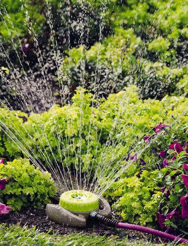 9-Pattern Turret Sprinkler