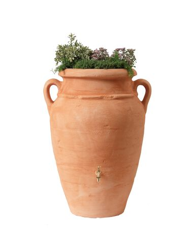 Antique Amphora Rain Barrel