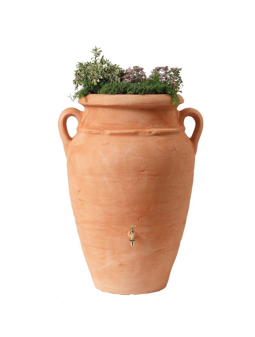 antique amphora rain barrel gardener 39 s supply. Black Bedroom Furniture Sets. Home Design Ideas