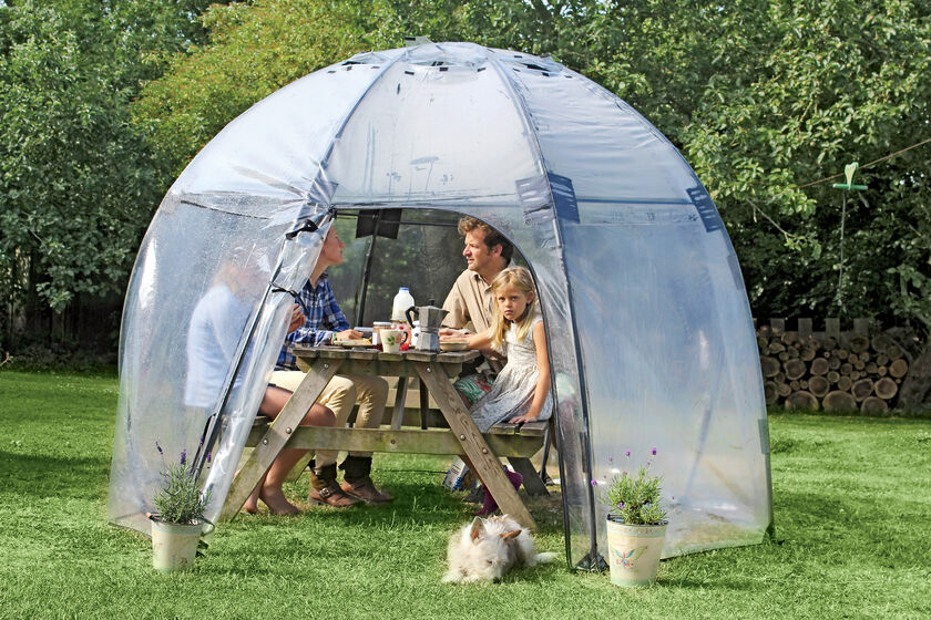 Pop Up Portable Greenhouse : Sunbubble greenhouse small pop up