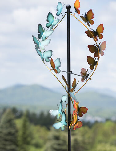 Butterfly Wind Spinner
