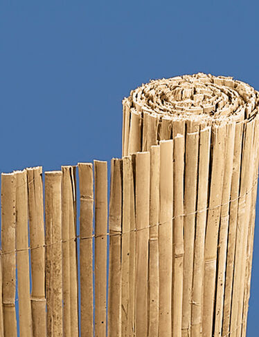 "Split-Bamboo Fencing, 39"" x 13'"