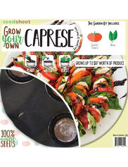 Grow Your Own Caprese Seedsheet