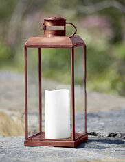 Concord Pillar Lantern with LED Candle