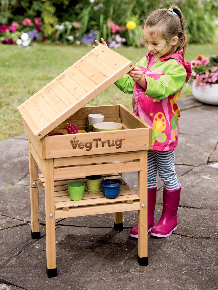 Kid 39 S Vegtrug Potting Bench Kids Gardening