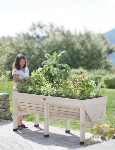 VegTrug™ Patio Garden, Whitewash