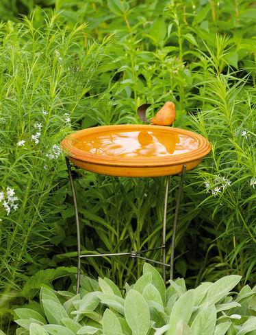 Spice Birdbath
