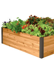 Deep Root Cedar Raised Beds, 4' Wide
