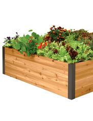 Vegetable gardening for beginners gardener 39 s supply for How deep should a raised vegetable garden be
