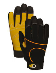 Men's Leather Palm Work Gloves