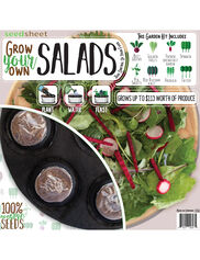 Grow Your Own Salad Seedsheet