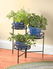 Nesting Triple Pot Stand