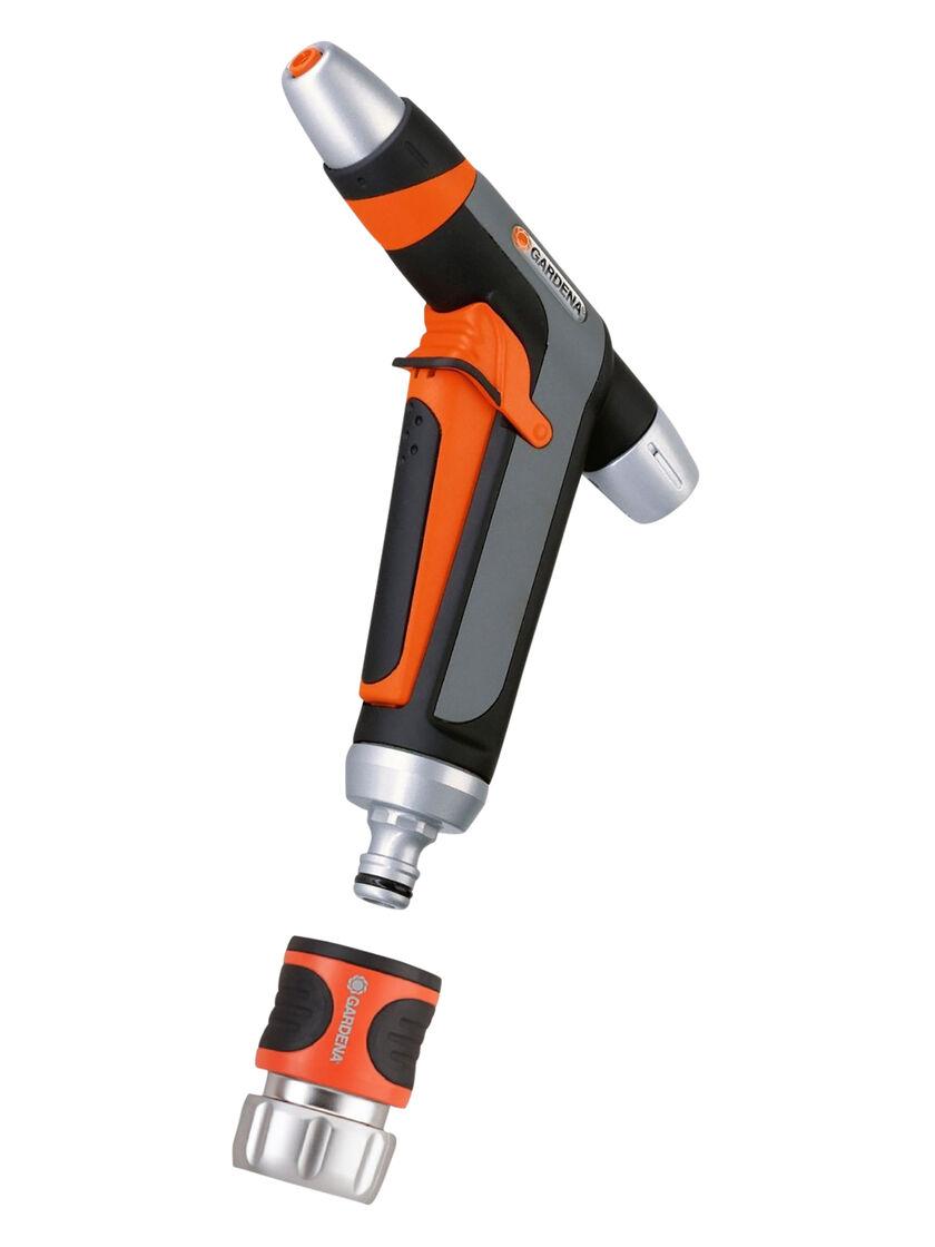 Premium Metal Spray Gun Nozzle Best Garden Hose Nozzle by Gardena