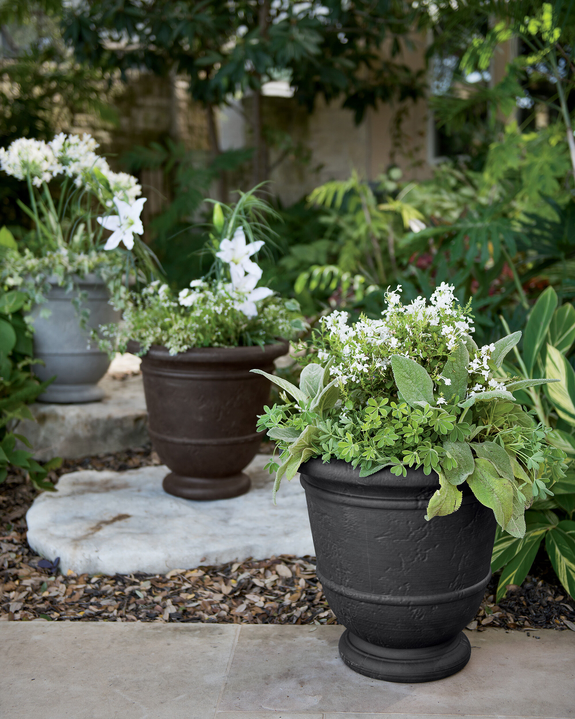 Tiered Patio Garden Planters 5 Steps To Use A Planter For Patio