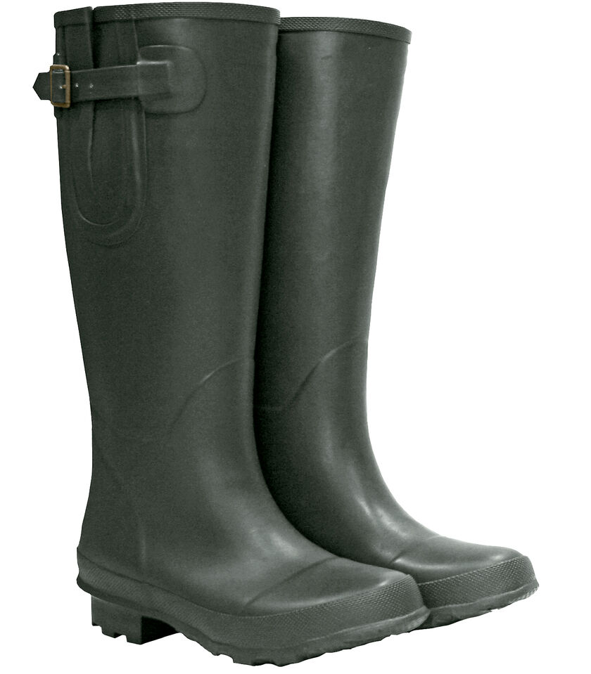 Unisex rubber garden boots gardening boots for men and women for Mens garden boots