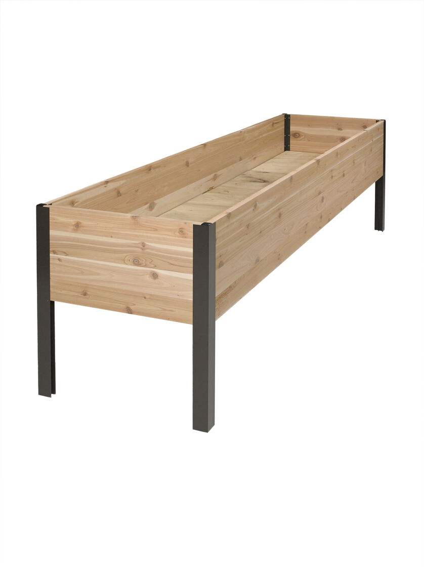 Planter Boxes Standing Height Cedar Raised Garden