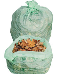 Compostable Lawn and Leaf Bags, Set of 5