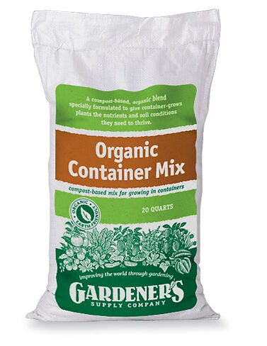 Organic Container Mix, 20 Qts. Raised Bed, Raised Garden Bed, Garden Bed, Raised Garden, Container Gardening, Garden Containers