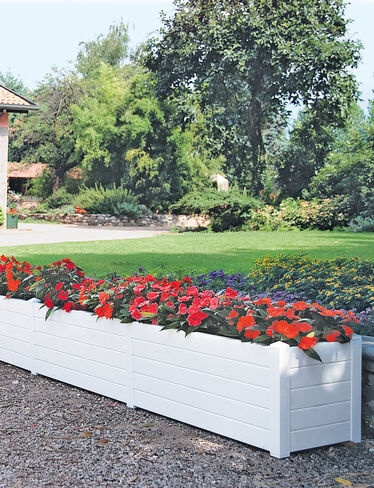 Terrazza Trough Extension Kit, White