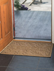 Personalized Laurel Water Glutton Door Mat