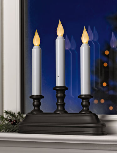 Battery-Operated Candelabra