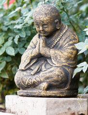 Shaolin Monk Garden Statue